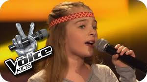 The Voice Kids Blind Auditions 2014 Jackson 5 I Want You Back Fabienne The Voice Kids 2013