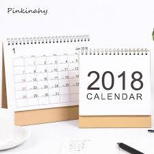 muji bureau muji stijl eenvoudige bureau kalender 2017 2018 rainlendar