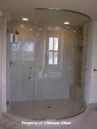 Curved Shower Doors Ultimate Glass Mirror Inc Specializing In Custom Glass Work And
