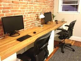 long desk for 2 new long desk with for two office furniture 2 ideas long desk for