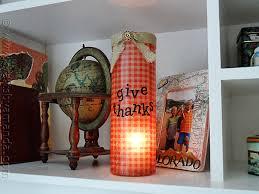 thanksgiving luminary vase crafts by amanda