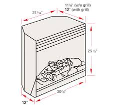 Fireplace Insert Dimensions by Dimplex 30
