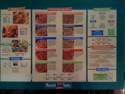 Round Table Pizza Careers Round Table Pizza Menu Menu For Round Table Pizza Lahaina Rest