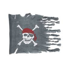 Flag Ideas Amazon Com Weathered Pirate Flag Party Accessory 1 Count 1 Pkg
