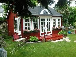 schwedenrot u0026 stilvoll die schönsten schwedenhaus gartenhäuser