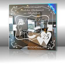 geschenke zum 25 hochzeitstag motivspiegel silberhochzeit 3 geschenk zur silbernen hochzeit