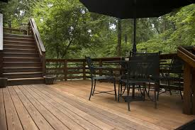 Backyard Wood Deck Decked For Success Prepping Outdoor Wood For Summer The Seattle