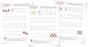 tracing numbers worksheets