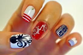 nautical nails 16 cute nail art ideas style motivation