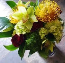 Modern Flower Vase Arrangements Modern U0026 Tropical Designs Botany Floral Studio Toronto On