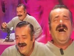 Laughing Guy Meme - shocking interview with valve employee spanish laughing guy