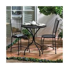 bar style outdoor patio furniture tall bistro table and chairs