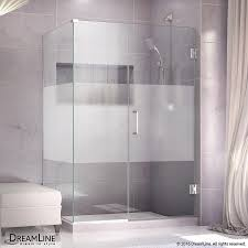 34 Shower Door Shop Dreamline Unidoor Plus 34 In To 34 In W Frameless Chrome
