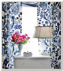 Blue Floral Curtains Blue And White Curtains Guest Room Pinterest Floral Curtains