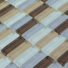 rivah flooring inc glass tile backsplash seamless blue tiles