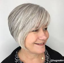 asymmetrical haircuts for women over 40 with fine har 30 modern haircuts for women over 50 with extra zing