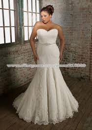 womens wedding dresses for full figured women mermaid lace
