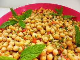 cuisine orientale facile salade de pois chiche à l orientale la recette facile par toqués