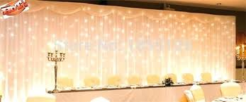 wedding backdrop to buy white silk curtains teawing co