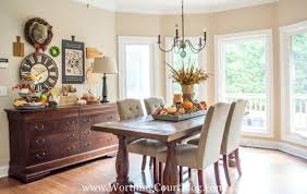 dining room centerpiece farmhouse fall table centerpiece worthing court