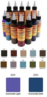 tattoo ink buy tattoo inks infinitii tattoo ink 20 colors 1 2oz set 4 buy it
