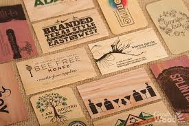cards of wood inc wedding invitations business cards