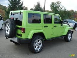 gecko green jeep 2013 gecko green pearl jeep wrangler unlimited sahara 4x4