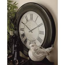Wooden Wall Clock Yosemite Home Decor 16 In Square Mdf Wall Clock In Distressed