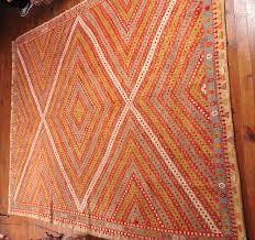Large Red Area Rug Large Kilim Rug Red Hand Woven Turkish Kilim Carpet Bohemian