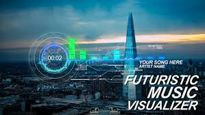 futuristic music visual technology after effects templates f5