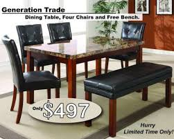 bobs furniture kitchen table set furniture billy bobs beds and mattresses