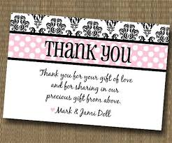 damask shabby chic thank you card baby shower bridal shower
