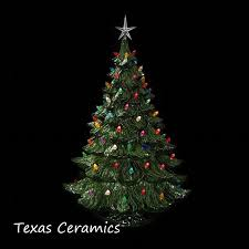 ceramic christmas tree with lights lighted ceramic christmas tree 24 inches texasceramics