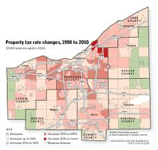 Map Of Northeast Ohio by Cuyahoga County U0027s Already Higher Property Tax Rates Grow The