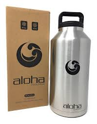 amazon com aloha cooltech water bottle growler stainless steel