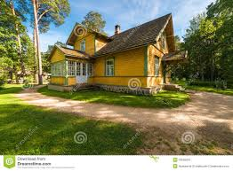 European House Country House Stock Photo Image 43599034