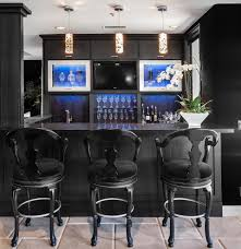 ideas modern black home bar home design and decor ideas modern black home bar