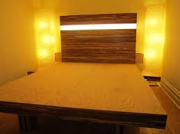 floating headboard ideas bamboo flooring platform bed 5 steps