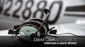 david clark dc one x unboxing u0026 quick review youtube