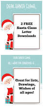 santa claus letter free printable for kids momdot