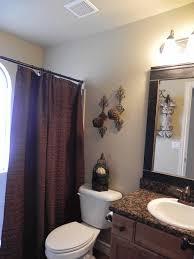 blue brown bathroom decor genwitch