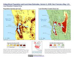 san francisco land use map maps rural population and land area estimates v2 sedac