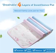 Incontinence Pads For Bed Aliexpress Com Buy Large Size 70x100cm Reusable And Waterproof