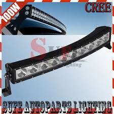 led tractor light bar 21inch 100w curved cree led light bar combo off road 4x4 for truck