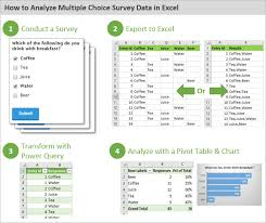 Excel Survey Data Analysis Template How To Analyze Survey Data In Excel Excel Cus