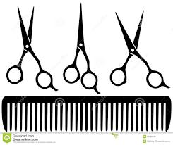 clipart hairdressing scissors clipartfest