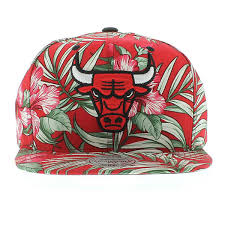floral snapback chicago bulls the floral print snapback by mitchell and ness