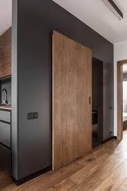 Wohnzimmerschrank Mit Schiebet Die Besten 25 Schiebetür Holz Ideen Auf Pinterest Rustikale