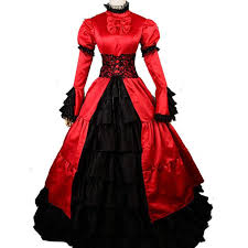 Southern Belle Halloween Costume Red Medieval Dress Halloween Costumes Women Princess
