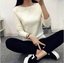 winter sleeve gray casual sweaters and